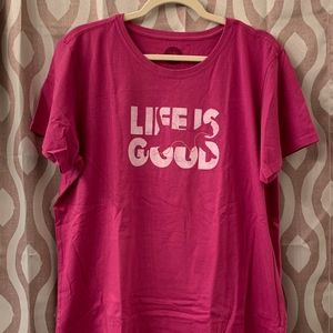 Life Is Good Tops - Life is Good - Cat